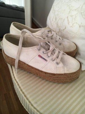 Superga plateau sneakers weiß 38