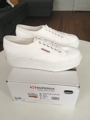 Superga Wedge Sneaker white
