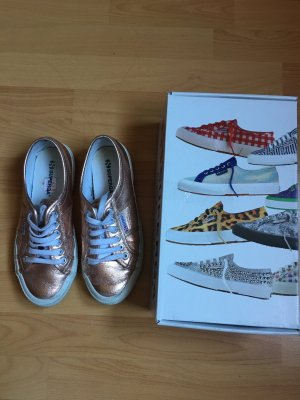 Superga rose Metallic 39
