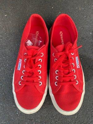 Superga rot Sneaker gr 40