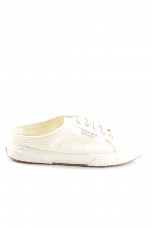 Superga Sabots cream casual look