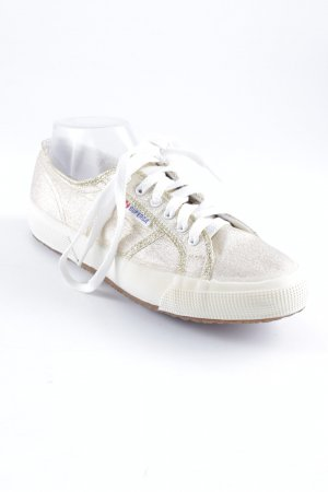 Superga Schnürsneaker goldfarben Casual-Look