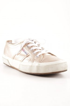 Superga Lace-Up Sneaker rose-gold-coloured casual look