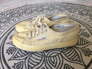 Superga Scarpa skate giallo chiaro