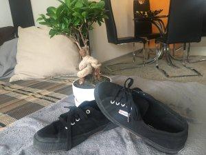 Superga Schuhe Schwarz ❤️