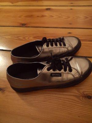 Superga Schuhe Silber/Metallic