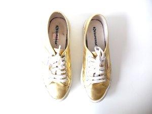 Superga Sneaker Cotmetu gold Gr. 39 sneaker turnschuhe