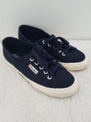 SUPERGA Sneaker, dunkelblau, Canvas, Gr.37
