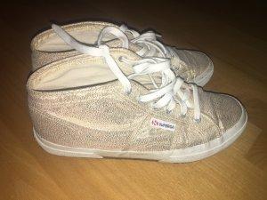 Superga Sneaker Gold in Größe 41