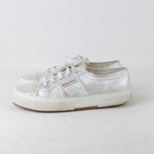 SUPERGA Sneaker Gr. 37 weiß silber glitzer (18/11/360/E)