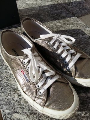 Superga Sneaker Halbschuhe metallic