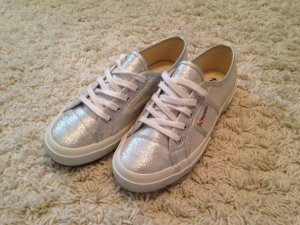 Superga Sneaker in Silber