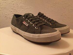 SUPERGA Sneaker oliv grün Gr. 39