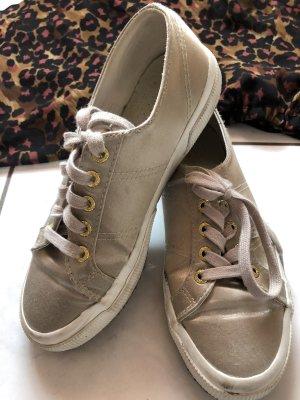 Superga sneaker Schuhe satin Blogger