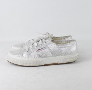 Superga Sneaker Silber 38