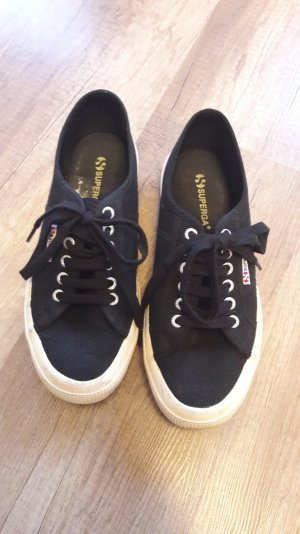Superga Sneaker Sneakers Low Canvas Freizeitschuhe Blogger Trend 40