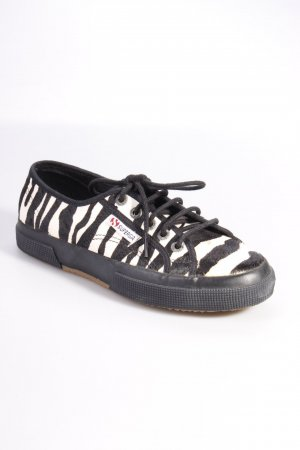 Superga Sneaker Zebramuster