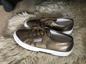 Superga Sneakers in Bronze