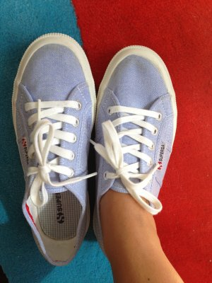Superga Stoffschuh in Blau