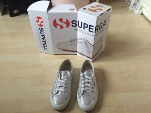 Superga Summer Sneakers in Silber