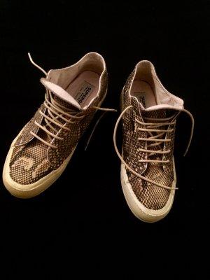 Superga Heel Sneakers multicolored reptile leather