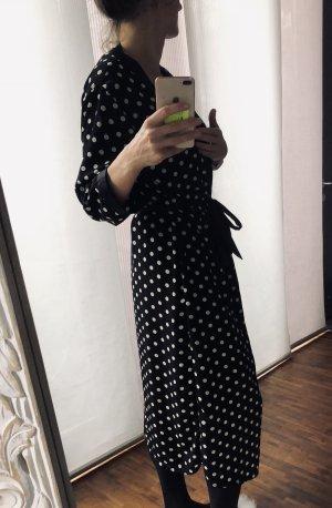 Badjas zwart-wit