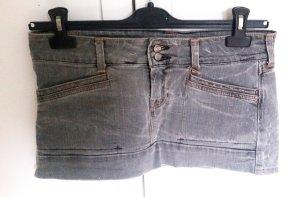 Superkurzer Jeans-Minirock