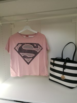 Superman Crop Top Shirt