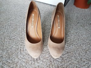 Buffalo High Heels nude-oatmeal