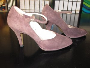 afis High Heels taupe suede