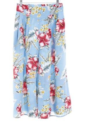 Superschöne Asos Culotte * Hosenrock * Highwaist * Midi-Länge * mit Blumenmuster * tolle Farben