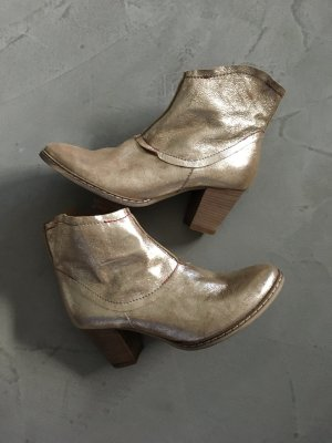 Superschöne Booties // Tandem // Gold // Boots