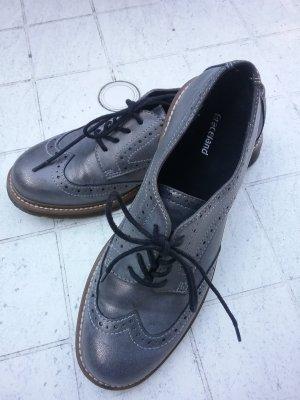 Graceland Wingtip Shoes grey
