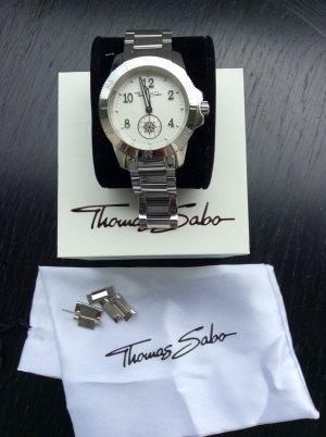 Superschöne Chrono Watch Uhr von Thomas Szabo in silber