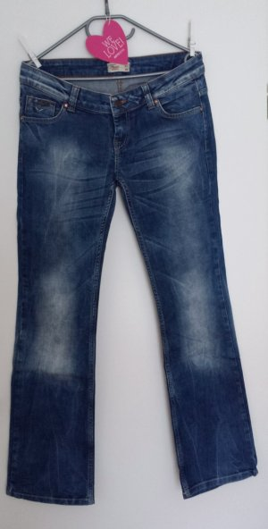 Superschöne Fuga Denimjeans Stretch blue washed Gr.31 Länge 32 *sexy Po*