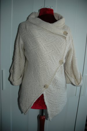 Coarse Knitted Jacket oatmeal