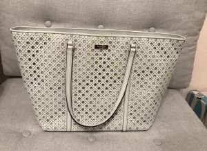 Kate Spade Shopper sage green leather