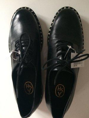 ASH Lace Shoes black-silver-colored