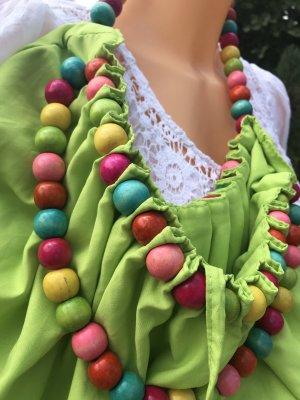 Borsa di tela multicolore Cotone