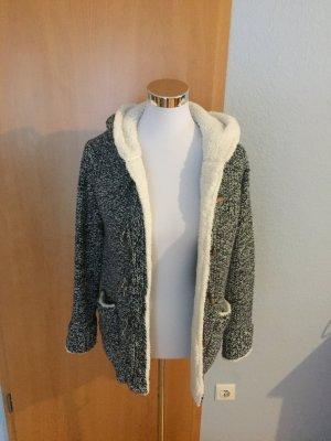 Zara Coarse Knitted Jacket multicolored
