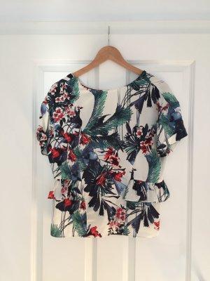 Superschöne Tropic-Bluse von Zara, Gr. S