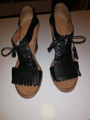 Superschöne Wedges Sandaletten