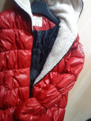 superschöne Winterjacke rot von Basefield Größe 38