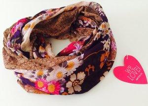 Superschöner floraler Loop Schal mit Mustermix *BohoStyle*
