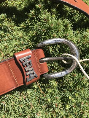 Levi's Leather Belt multicolored leather