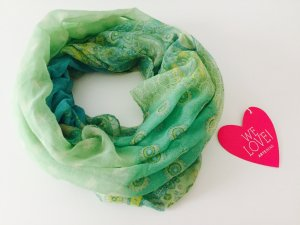 superschöner Loop Schal Tuch *Farbverlauf* fast wie neu