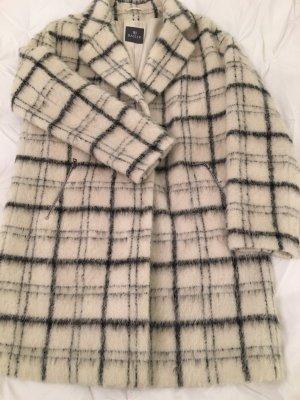 Basler Wool Coat black-white