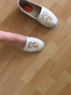 Michael Kors Flats blanco-amarillo