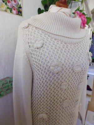 b.p.c. Bonprix Collection Coarse Knitted Sweater natural white mixture fibre