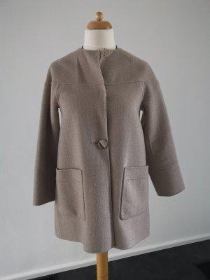 Zara Oversized Jacket grey brown